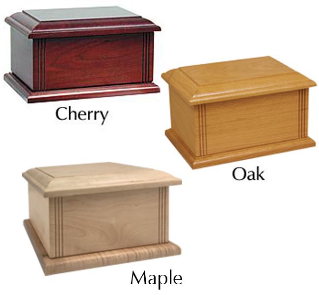 Tradition Wood Urn